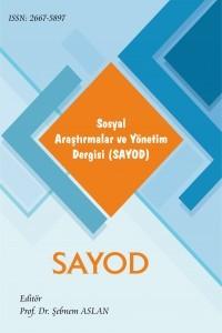 Sosyal Araştırmalar ve Yönetim Dergisi