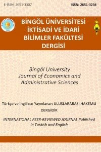 Bingol University Journal of Economics and Administrative Sciences