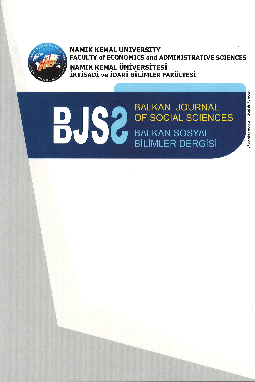Balkan Sosyal Bilimler Dergisi