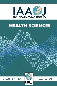 International Anatolia Academic Online Journal/ Journal of Health Science