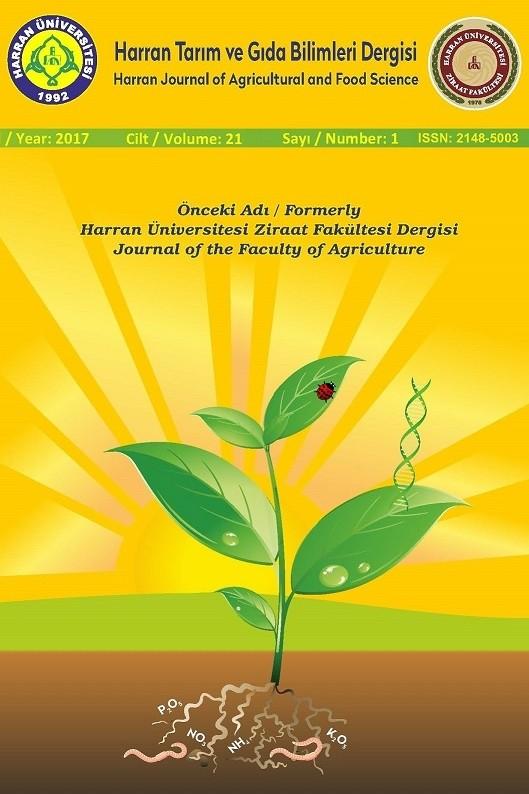Harran Tarım ve Gıda Bilimleri Dergisi