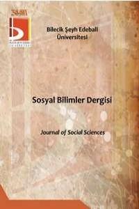 Bilecik Şeyh Edebali Üniversitesi Sosyal Bilimler Dergisi