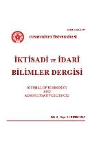 Cumhuriyet Üniversitesi İktisadi ve İdari Bilimler Dergisi