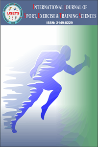 International Journal of Sport Exercise and Training Sciences - IJSETS