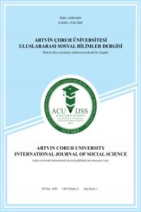 Artvin Coruh University International Journal of Social Sciences
