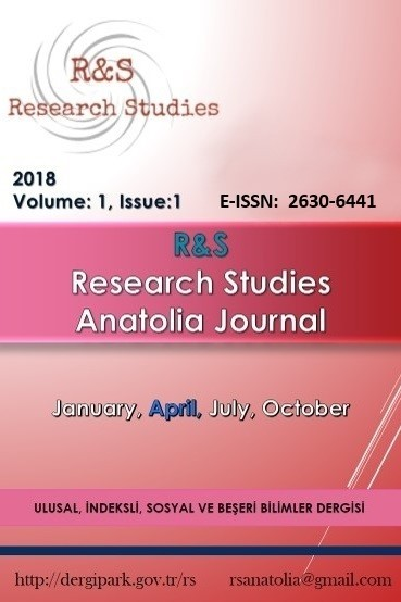 R&S - Research Studies Anatolia Journal
