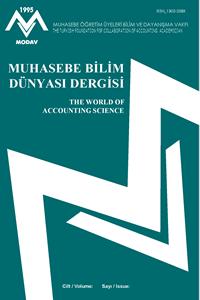 Muhasebe Bilim Dünyası Dergisi