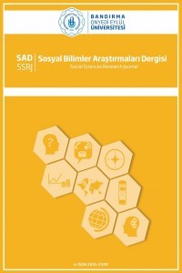 Bandırma Onyedi Eylül University Social Sciences Research Journal