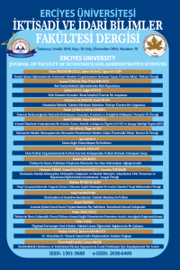 Erciyes University Journal of Faculty of Economics and Administrative Sciences