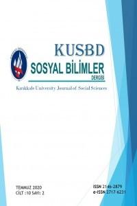 Kırıkkale Üniversitesi Sosyal Bilimler Dergisi