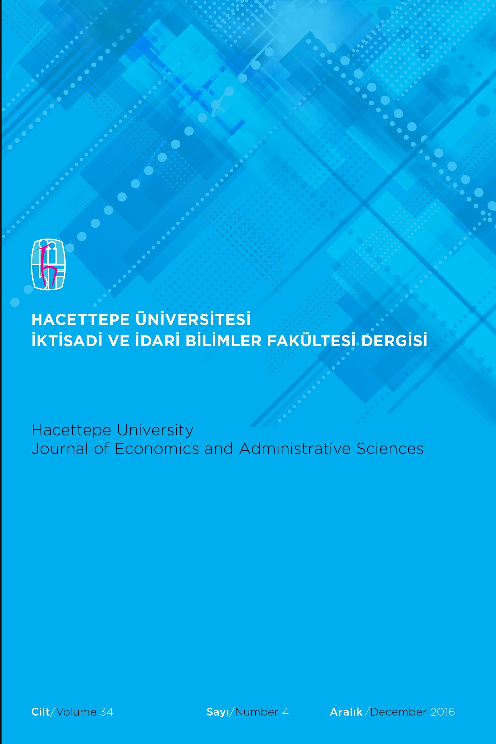 Hacettepe University Journal of Economics and Administrative Sciences