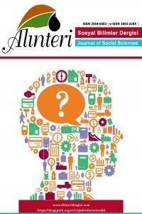 Alinteri Journal of Social Sciences