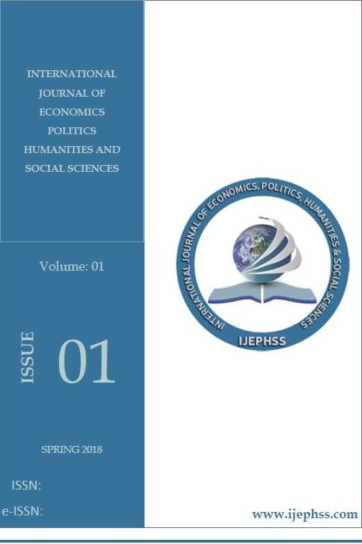 Uluslararası Ekonomi Siyaset İnsan ve Toplum Bilimleri Dergisi