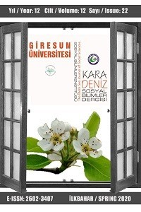 Karadeniz Sosyal Bilimler Dergisi